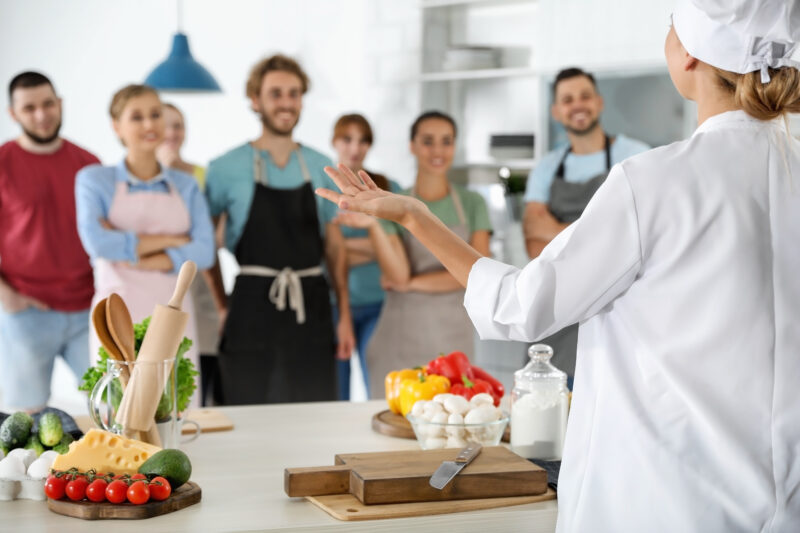 Why Use Our Commercial Kitchen to Teach Cooking Classes?